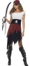 Disfraces de mujer negro sin marca, piratas