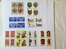 Folk Art & Crafts: An American Stamp Collection