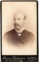 CDV photo Herrenportrait - Hamburg 1880er