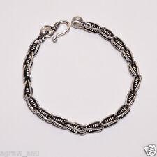 Tulang naga elegant designer inspire bracelets .925 silver 8.5 inch 5 mm 20 gram