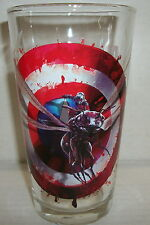 "ANT-MAN - CAPTAIN AMERCA CIVIL WAR ""TOON TUMBLERS"" PINT GLASS - 2016"