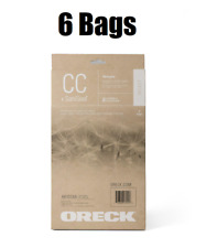 Oreck AK1CC6A CC SaniSeal Allergen Filtration Vacuum Cleaner Bags 6 Pack Genuine