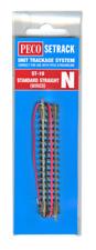 PECO St-10 N Gauge Standard Straight Wired 58mm Long