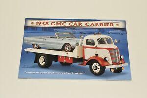 BROCHURE ONLY Danbury Mint 1:24 1938 GMC Car Carrier
