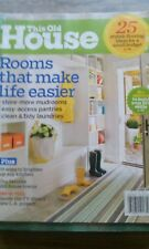 THIS OLD HOUSE MONTHLY MAGAZINE, STYLING FLOORING IDEAS, APRIL 2011