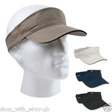 Sports Sun Visor Cap Hat Adjustable for Golf Tennis Fishing Jogging Headband New