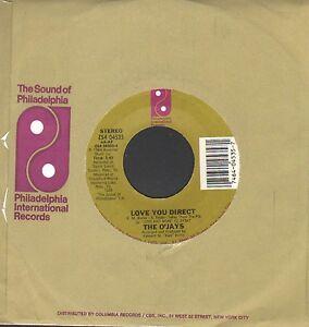 "Monster Modern Soul O'Jays  - Love You Direct -  7"" Single!!!"
