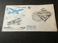 Monaco 1956, FDC 1° Day Aircraft, VF