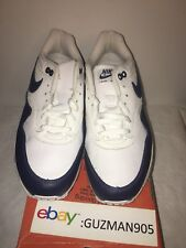2003 Nike Air Max 1 Midnight Navy Size 9 Leather 307101 141 Patta Euro Mesh 87