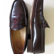 59a032fbc46 FRYE Sz 8 M US James Greg Penny Loafer Leather Cordovan Dark Brown Mens  Shoes