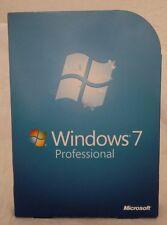 Microsoft  Windows 7 Professional 32/64-Bit DVDs MS WIN PRO RETAIL BOX