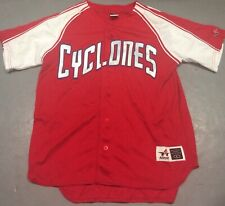 Brooklyn Cyclones #12 Red Jersey Size Large MILB New York Mets NY