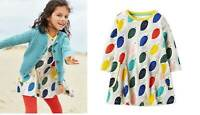 Mini Boden dress Owls print ages 2 3 4 5 6 7 8 9 10 11 12 swing tunic jersey