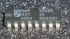 1 PC. saf3019p real-time clock-calendar, clock/timer W/serial I/O dip16