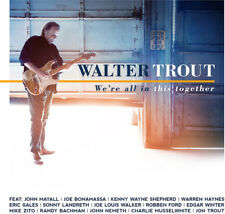We'Re All In This Together - Walter Trout (2017, CD NIEUW)