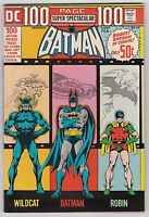 DC 100 Page Super Spectacular #DC-14 VF- 7.5 Batman Robin Wildcat!!