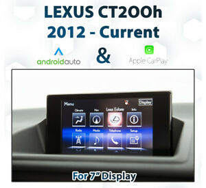 LEXUS CT200h 2012 - Current Apple CarPlay & Android Auto Integration