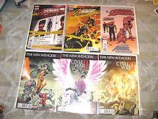 New Avengers 8 Comic Lot! #8 10 11 12 13 14 15 16 Civil War Ii Captain America!