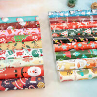 32 Paper Christmas Holiday Wrapping Wrap Present Roll Designs Gift