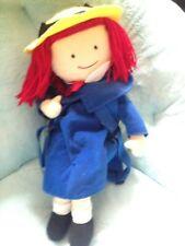 Madeline Doll Plush Stuffed Full Body Backpack