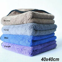 Hot 800GSM 40cmx40cm Microfiber Car Water Absorb Cleaning Cloth Car Care