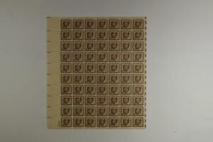 US SCOTT 1018 PANE OF 70 OHIO SESQUICENTENNIAL STAMPS 3 CENT FACE MNH