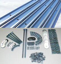 Bed Strips Kit Ford 1967 - 1972 Plain Steel Long Bed Stepside Wood Strip Bolts
