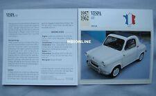 Vespa 400 Collectors Classic Cars Card