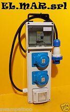 Quadro elettrico ASC Monofase 3 prese x 16 A CEE 3 kw 230 V da cantiere 1 shuko