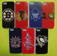 NHL Hockey Team Case Hard Back Cover for I-PHONE 5 - 5s