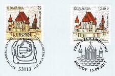BRD 2011: Birthälmer Kirchenburg Nr 2889 mit der rumänischer Parallelausgabe! 1A