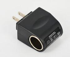 110V - 240V AC WALL Plug to 12V Car Charger DC Power Socke Converter Adapter USA