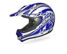 Casque moto Cross Enduro Quad BLEU/BLANC t: XL Homologué neuf