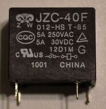 JZC-40F 5A 250VAC / 5A 30VDC Mini Relay - New, Unused, Reclaimed Component