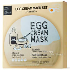 [too cool for school] Egg Cream Mask Set (Firming)  28g(0.98oz)*5