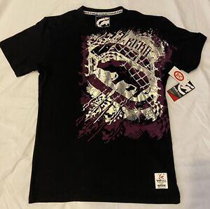ECKO UNLTD. Black T-Shirt Rhino Graphic Tee - Men's Sz S