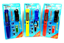 Promier 3 Piece Bright Led Light Set Work Light Pen Light Key Chain Flash light