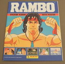 1986 Panini Rambo Empty album