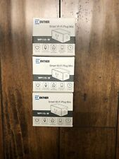 Enther Wp110-W Smart Plug, Mini Wifi Smart Outlet (3 Plugs), White