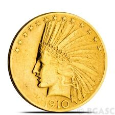 $10 Indian Eagle Gold Coin Jewelry Grade (Random Year)