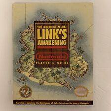 The Legend of Zelda: Link's Awakening Nintendo Player's Guide 1993 (FAST SHIP!)