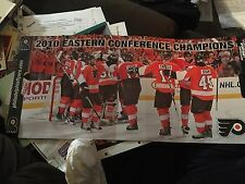 Philadelphia Flyers 2010 Eastern Conference Champs Cheering Fan Flyer'd UP  SGA