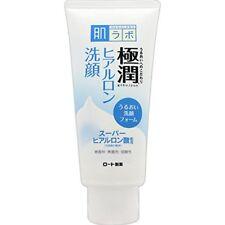 Rohto Hadalabo Gokujyun Hyaluronic Acid Face Wash Cleansing 100g