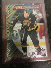 TOPPS FINEST HOCKEY 1996 TREVOR LINDEN PERFORMERS CARD 144 VANCOUVER CANUCKS