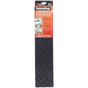 """Keeper 05680 Safety Step Anti Slip Tread 4"""" x 17-1/2"""" Adhesive Back Pack of 2"""