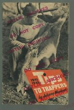 1941-2 Sears TIPS TO TRAPPERS MAGAZINE Advertising JOHNNY MUSKRAT