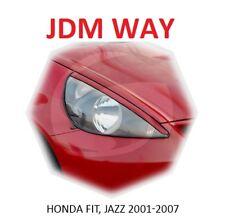 Honda JAZZ FIT GD Eyebrows Eyelids Eye Line Unpainted 2001-2007 2 pcs