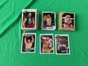 2007 Topps WWE Heritage III 90 Complete Card Set Base Legends
