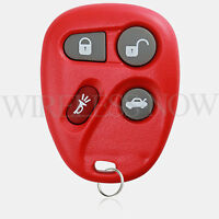 Car Fob Keyless Entry Remote Red For 2001 2002 2003 2004 2005 Pontiac Grand AM