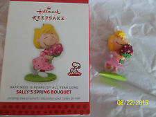 HALLMARK  2014  Happiness is Peanuts  All Year Long  Sally's Spring Bouquet NIB